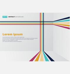 template line vertical horizontal room vector image