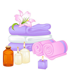 Towels vector