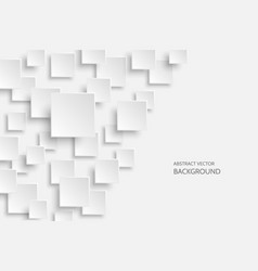 white modern abstract background vector image