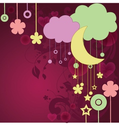 Dream Background vector image