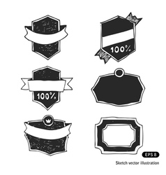 Banners set vector image