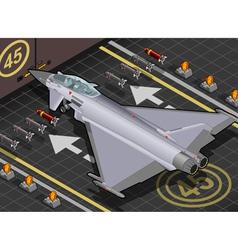 Eurofighter vector image