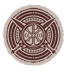 Konstantins cross 0002 christian symbol vector