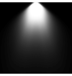 Light Beam From Projector vector image