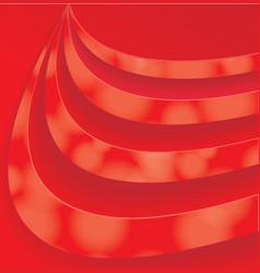 Red Swirl pattern vector