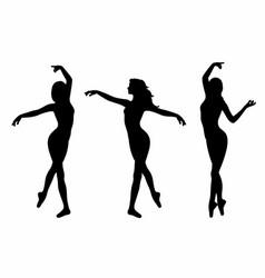 Shadows dancers vector