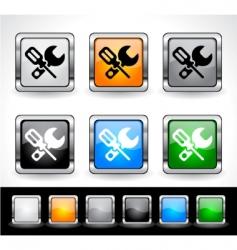 Web design buttons vector