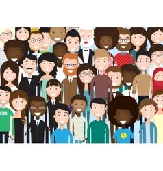 Group of Business People vector image vector image