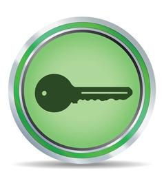 key icon circle vector image