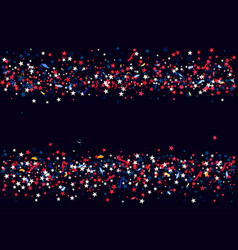 Abstract background with flying red blue silver vector
