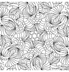 Abstract hand drawn pattern vector