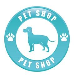 Dog design vector image