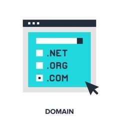 Domain flat concept vector