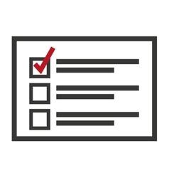 Electoral Card isolated icon design vector