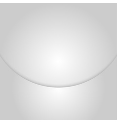 Empty card circle with shadow for design vector