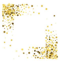 Frame or border stars vector