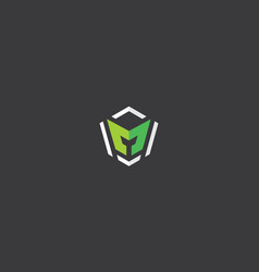 initial m logo icon vector image