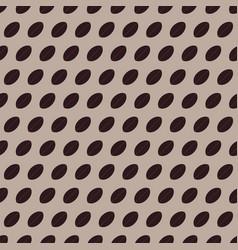 pattern 0127 coffee grains vector image