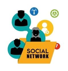 Social design vector