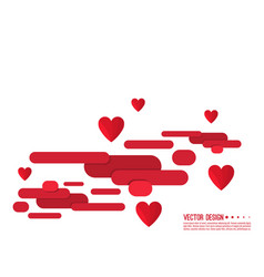 Valentine s day abstract background vector