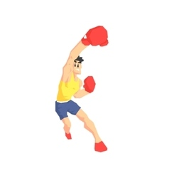 Boxer Attacking vector image