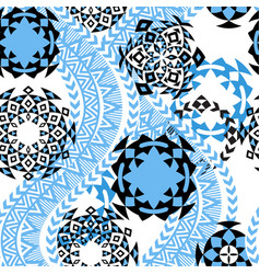 ethnic background tribal seamless pattern vector image