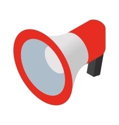 Loudspeaker isometric icon vector image