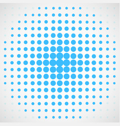 abstract halftone dotted background vector image