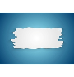 Abstract ragged paper background vector