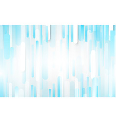 abstract white and blue rectangles background vector image