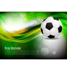 Background with ball vector