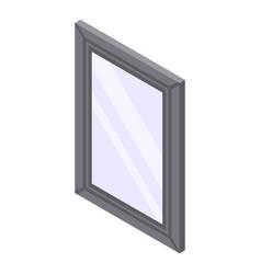 City lightbox icon isometric style vector