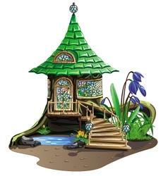 Fairytale house vector