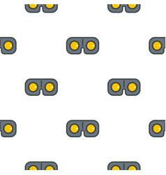 Game glasses pattern seamless vector