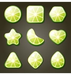 Lime Candies vector