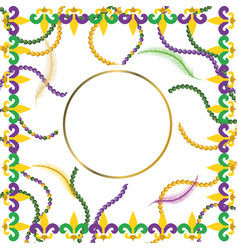 royal lily flower cartoon vector image