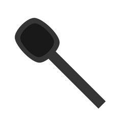 spoon cutlery utensil vector image