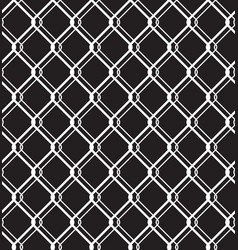 steel wired fence seamless pattern overlay vector image
