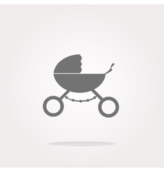 stroller icon in mode web icon Web Icon vector image