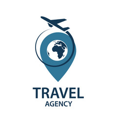 Travel logo image vector