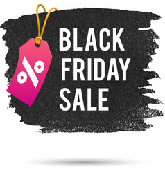 Black Friday Sale Promo Abstract vector image