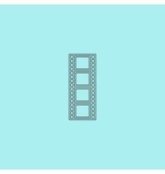 cinematographic film vector image vector image