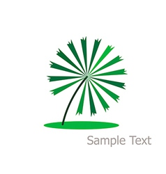 Concept leaves of vector image vector image