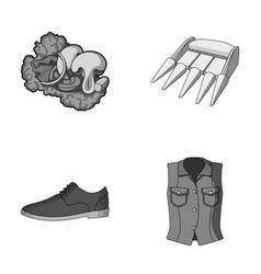 industry textiles ateliers and other monochrome vector image vector image