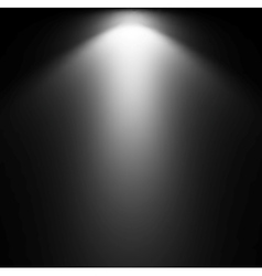 Light Beam From Projector vector image vector image