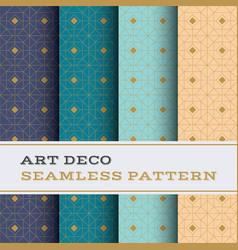 Art deco seamless pattern 44 vector