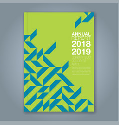 Cover annual report 871 vector