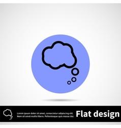 Icon flat design vector image