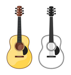 music instrument - electric guitar vector image