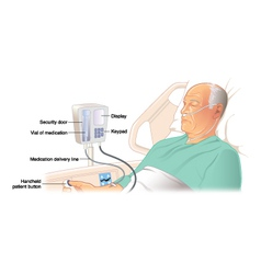 Patient controled analgesia vector